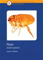 Fleas (Siphonaptera) (Handbooks for the Identification of British Insects 1/16)