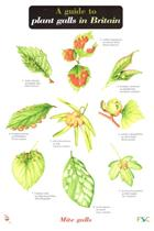 A Guide to Plant Galls in Britain (Identification Chart)