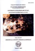 Fauna of France and Corsica Coleoptera Tenebrionidae (Alleculinae excluded) Systematic Catalogue and Atlas