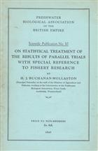 On Statistical Treatment of the Results of Parallel Trials with Special Reference to Fishery Research