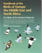 Handbook of the Birds of Europe, the Middle East and North Africa.  The Birds of the Western Palearctic. Vol. 9: Buntings and New World Warblers