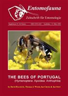 Bees of Portugal (Hymenoptera: Apoidea, Anthophila)