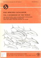 Scombrids of the World:An Annotated and Illustrated Catalogue of Tunas, Mackerels, Bonitos, and Related Species Known to Date