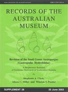 Revision of the Snail Genus Austropyrgus (Gastropoda: Hydrobiidae): A Morphostatic Radiation of Freshwater Gastropods in Southeastern Australia