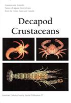 Common and Scientific Names of Aquatic Invertebrates from the United States and Canada: Decapod Crustaceans