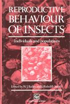 Reproductive Behaviour of Insects: Individuals and Populations