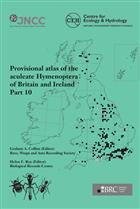 Provisional Atlas of Aculeate Hymenoptera of Britain and Ireland. Part 10