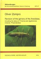 Revision of the genera of the Areolatae including the status of Timema and Agathemera (Insecta, Phasmatodea)