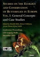 Studies on the Ecology and Conservation of Butterflies in Europe. Vol. 1: General Concepts and Case Studies