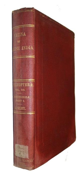 MORLEY, C. - Fauna of British India: including Ceylon and Burma. Hymenoptera 3: Ichneumonidae 1: Ichneumones Deltoidei